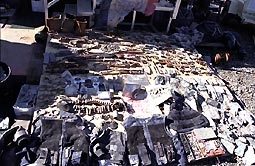Objects recovered at WTC Recovery Operation at Fresh Kills